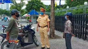 TP. HCM sẽ xử phạt người đi đường không đeo khẩu trang