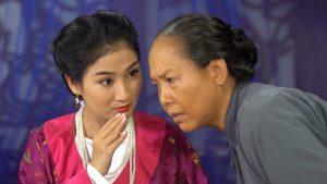 Nghiệp sinh tử P2 Tập 50: Quỳnh Lam diễn màn kịch để nhà họ Trương nghĩ mình có thai