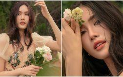 """Á hậu Phương Anh tung bộ ảnh sinh nhật dịu dàng, thanh lịch """"chuẩn"""" phong thái Miss International"""
