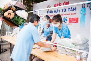 """CLB từ thiện """"Suối mát từ tâm"""" của dàn Hoa, Á Hậu chuẩn bị 15.000 suất cơm tặng bà con nghèo"""