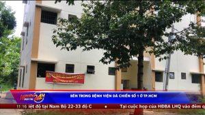 Bên trong Bệnh viện dã chiến số 1 ở TP.HCM