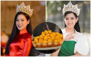 Sinh nhật Hoa Hậu Đỗ Hà: Dân tình được một phen xôn xao với chiếc bánh độc đáo làm từ món ăn yêu thích của nàng hậu