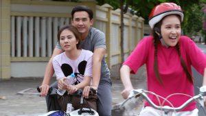 Lương Thế Thành, Vân Trang lãng mạn chạy xe đạp cùng nhau