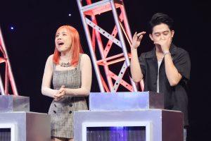 Miko Lan Trinh hào hứng khoe giọng trên nền nhạc beatbox của MC Quốc Bảo