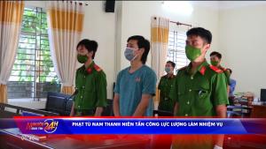 Phạt tù nam thanh niên tấn công lực lượng làm nhiệm vụ