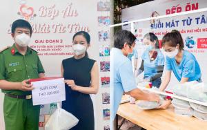 """Bếp ăn mùa dịch của """"bà trùm hoa hậu"""" Phạm Kim Dung cung cấp 100.000 suất ăn miễn phí, vượt gấp 10 lần số lượng dự kiến ban đầu"""