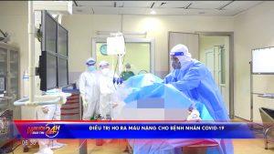 Điều trị ho ra máu nặng cho bệnh nhân Covid-19