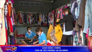 Gian hàng 0 đồng chia sẻ yêu thương tại Đà Nẵng
