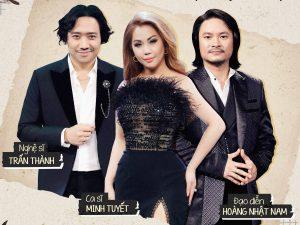 Trấn Thành – Minh Tuyết – Hoàng Nhật Nam kết hợp trong bản mashup cực đã tai đêm gala trao giải Ca sĩ thần tượng